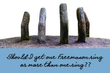 Masonic Ring – Should I get one Freemason ring or more than one ring?