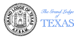 Grand Lodge of Texas Logo